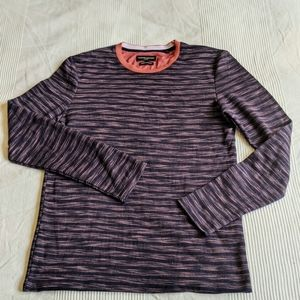 Thomson & Richards Patterned Crew Neck Pullover